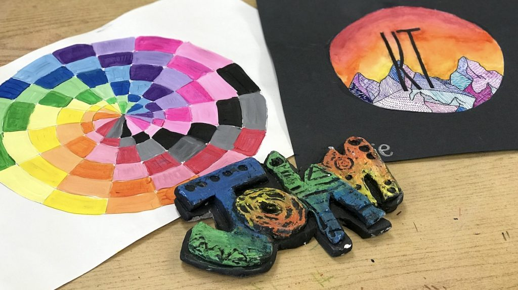 student art projects