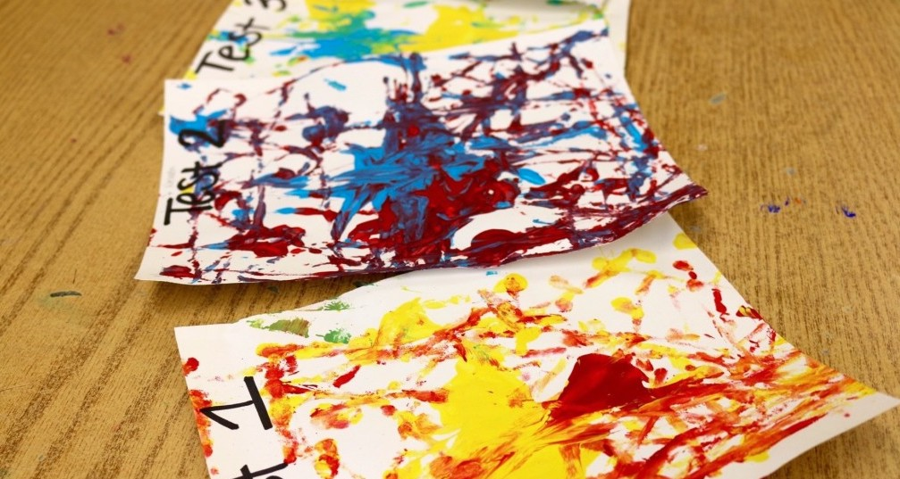color mixing exercises