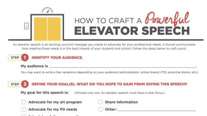 How to Craft the Perfect Elevator Speech for Your PD Needs