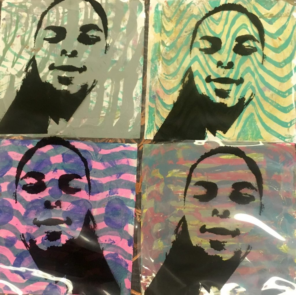 student transparency portraits