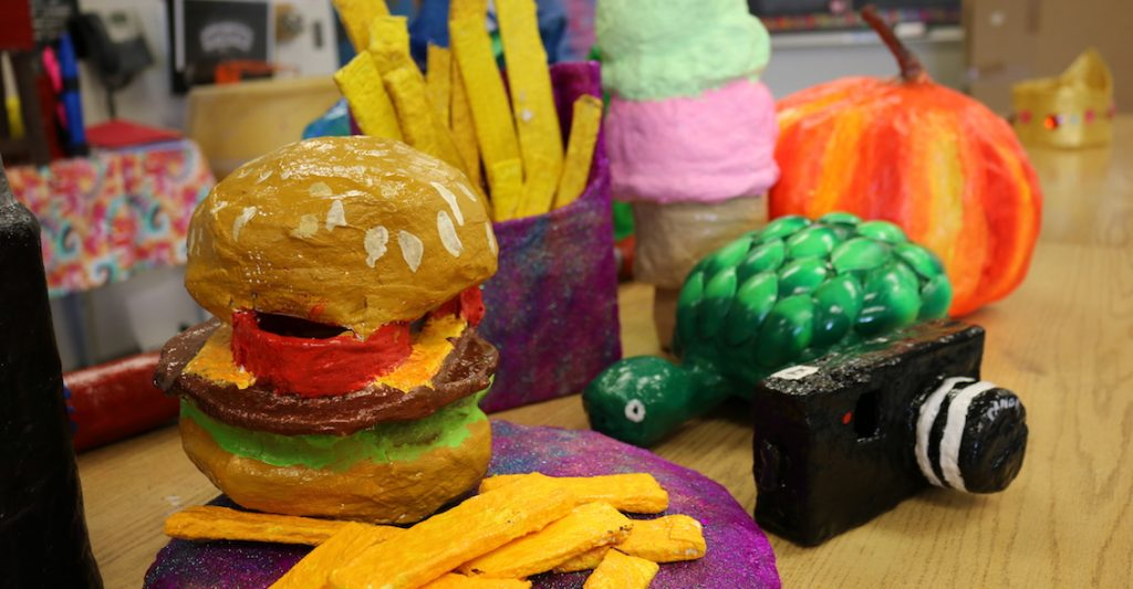 paper mache student projects
