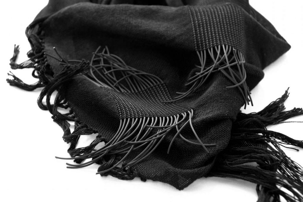 Amber's scarf