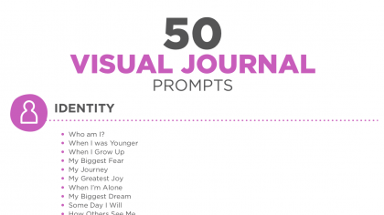 50 Visual Journal Prompts to Promote Drawing and Creative Thinking Skills