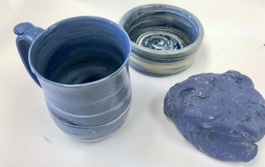 colored clay