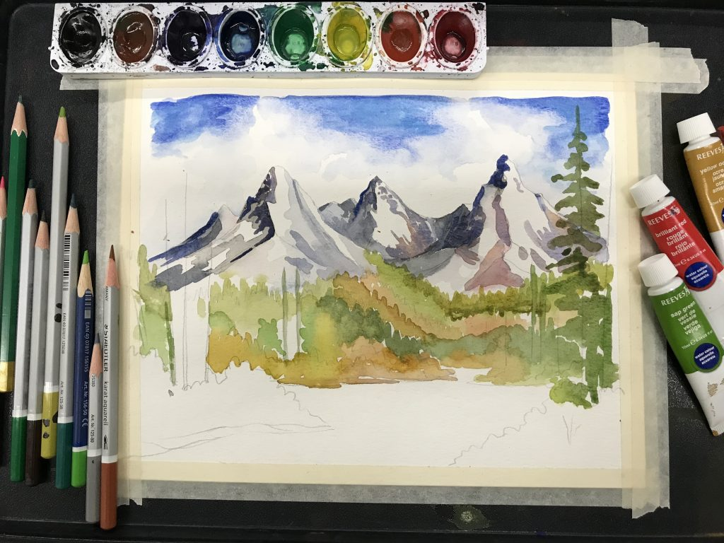 5 Ideas To Improve How You Teach Watercolor The Art Of
