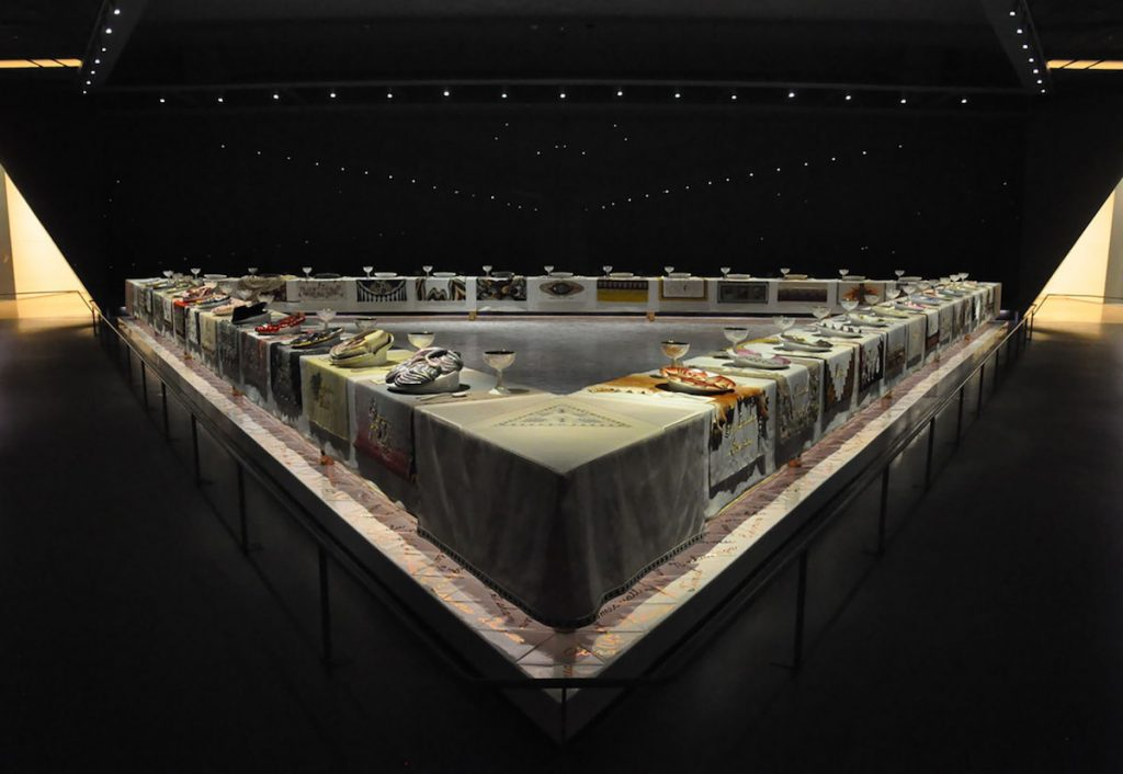 "Judy Chicago's ""The Dinner Party"""