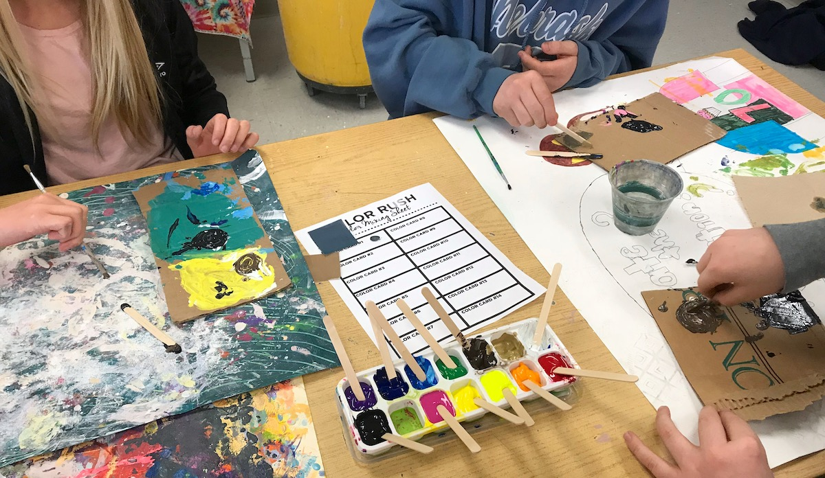 The Best Color Mixing Game to Play With Your Students ...