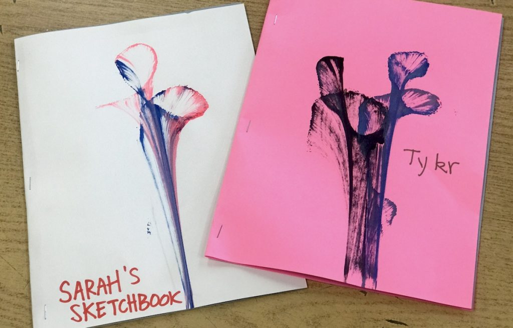 student sketchbook covers