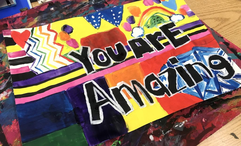 sign that says you are amazing