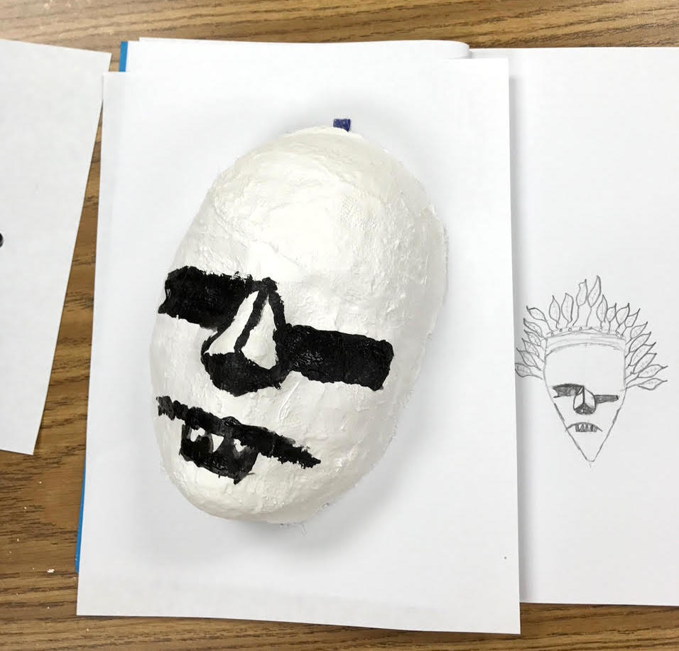 mask and sketch