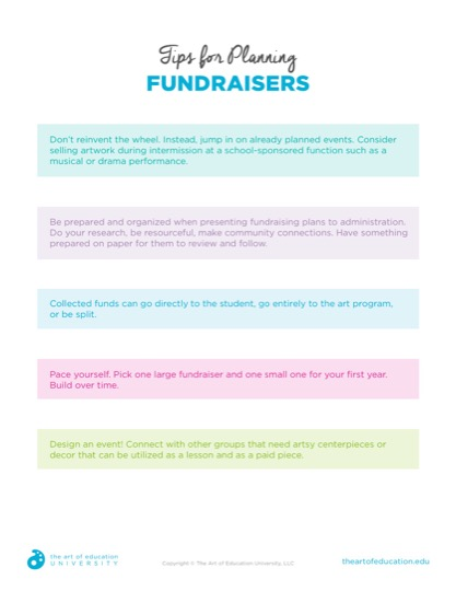 https://uploads.theartofeducation.edu/2019/05/41.2_Tips_for_Planning_Fundraisers.pdf