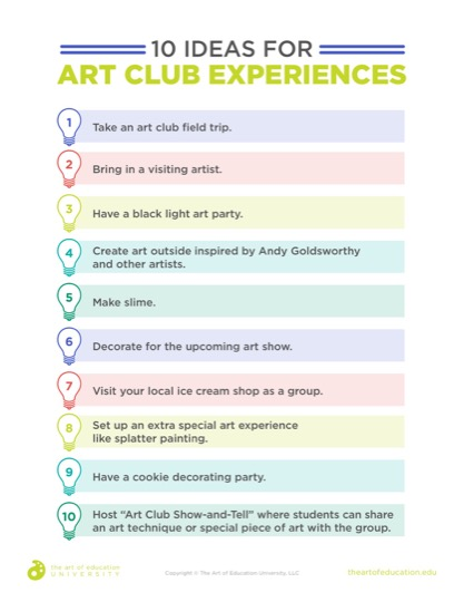 https://uploads.theartofeducation.edu/2019/05/48.210IdeasArtClubExperiences.pdf