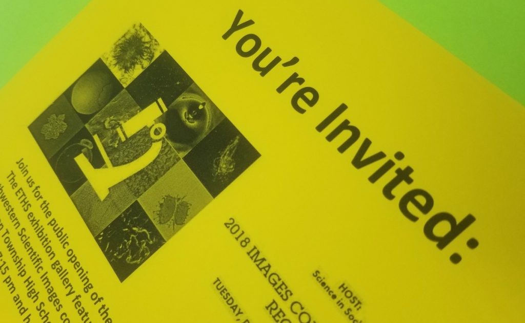 image of event invitation for parents