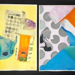 Image of student artwork showing composition
