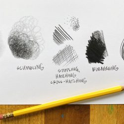 Pencil techniques